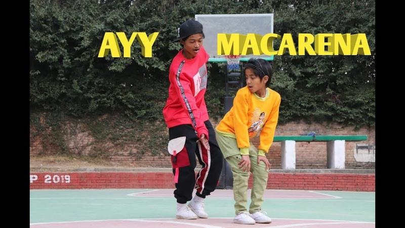 Ayy Macarena Dance Tyga Choreography by Abhay Aayush ASquare Crew