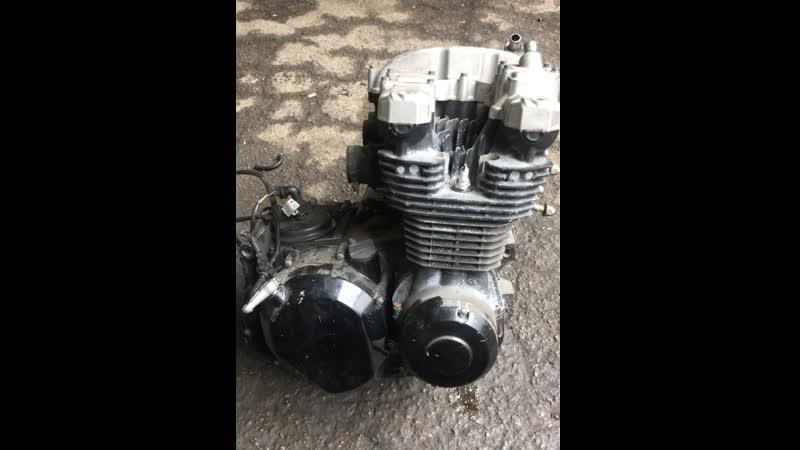 Проверка контрактного двигателя Kawasaki ZR7 (ZR750CE) перед отправкой клиенту | motod.ru