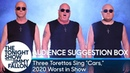 Audience Suggestion Box Three Torettos Sing Cars for Fast Furious 9 Worst in Show