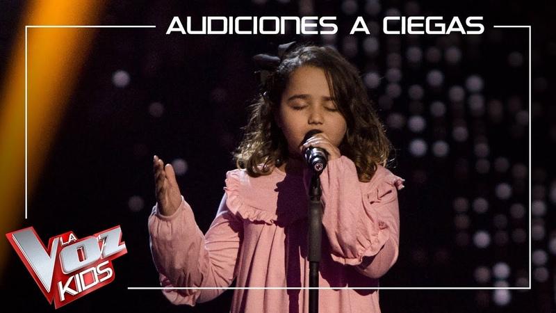 Saira Suarez canta 'Wrecking ball' | Audiciones a ciegas | La Voz Kids Antena 3 2019