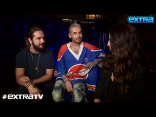 Extra TV: Interview with Kaulitz Twins and Heidi Klum -