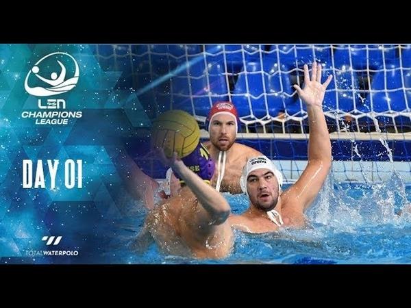 Szolnok (HUN) vs Sintez Kazan (RUS) - LEN Champions League - 1° Round