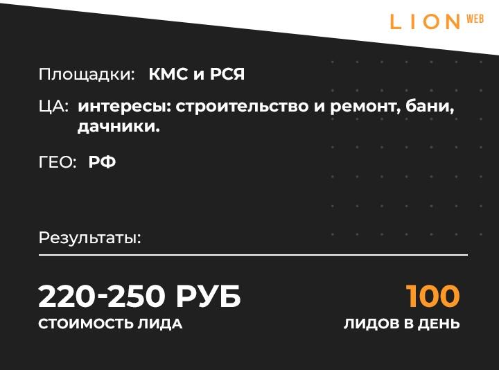 Кейс: 100 заявок в день на продажу печей для бань с помощью РСЯ, изображение №1