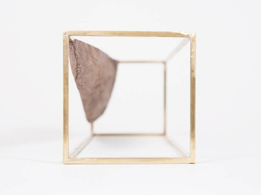 Huy Bui imagined a collection of 48 brass rectangles,