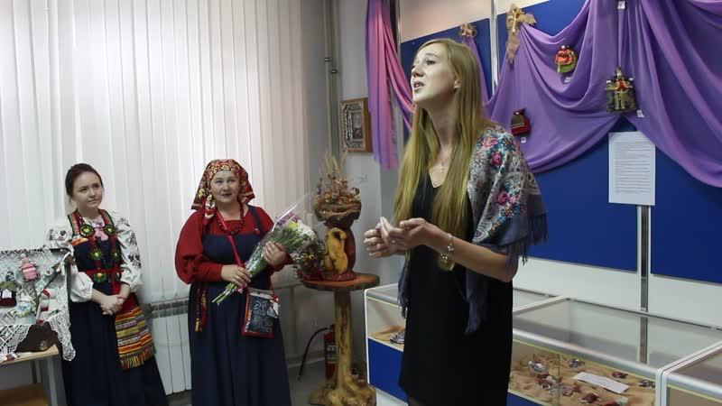 В музее БГТУ имени В.Г. Шухова открылась выставка авторских кукол Не наигралась!.. Антонины Мартыновой.