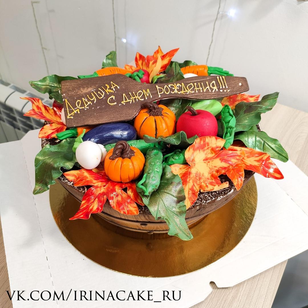 Торт с сиде кадушки (Арт. 565)