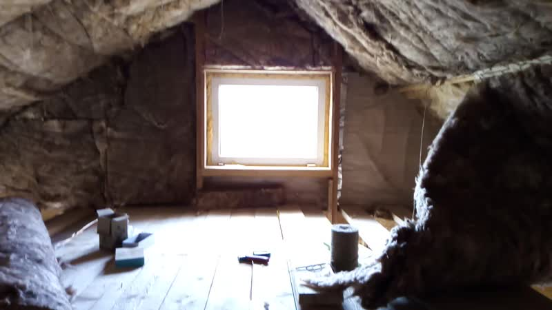 Строительство третьего спального этажика