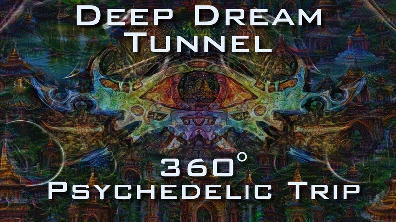 360 VR Deep Dream Tunnel Trip Psychedelic Fractal Ayahuasca DMT Experience 4K UltraHD