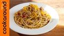 Spaghetti aglio olio tonno e scorza di limone YT
