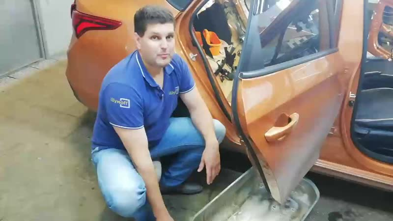 Hyundai Salaris - подготовка дверей Шумофф Ульяновск.mp4