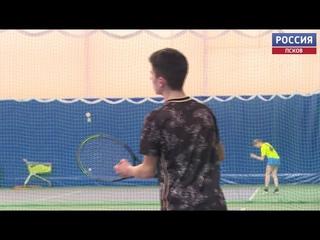 Под Псковом проходит чемпионат по теннису