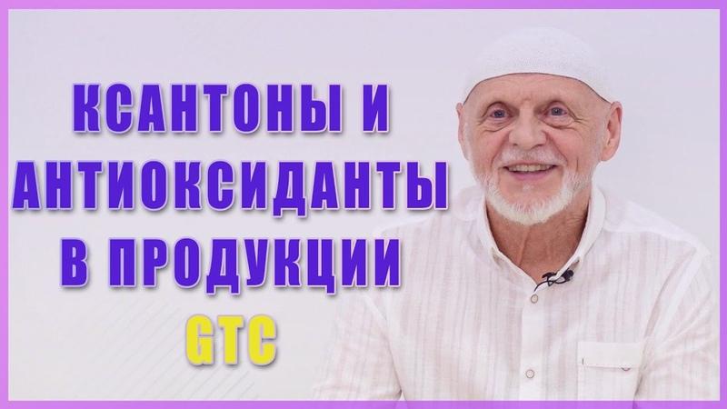 Ксантоны и антиоксиданты в продукции GTC