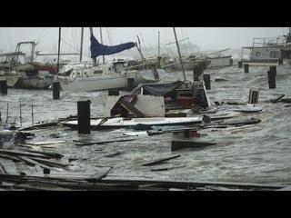 """Ураган """"Ханна"""" пришёл в Техас и угрожает Мексике"""