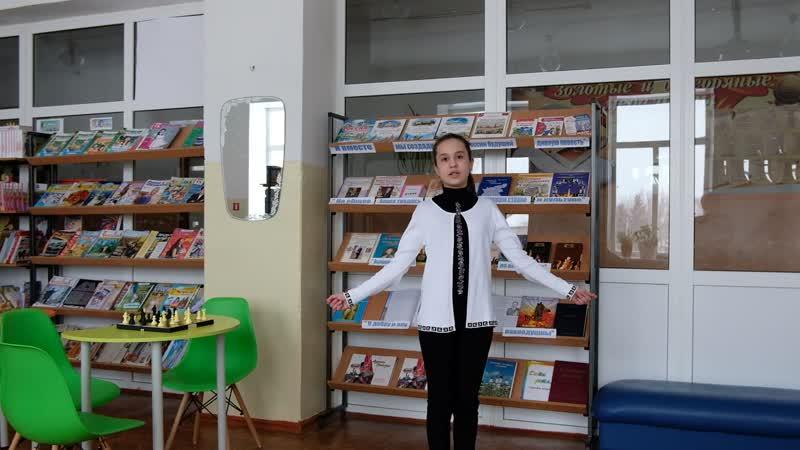 Дарья Коротенькова обучающаяся МАОУ Абатская СОШ №1 родные языкироссии