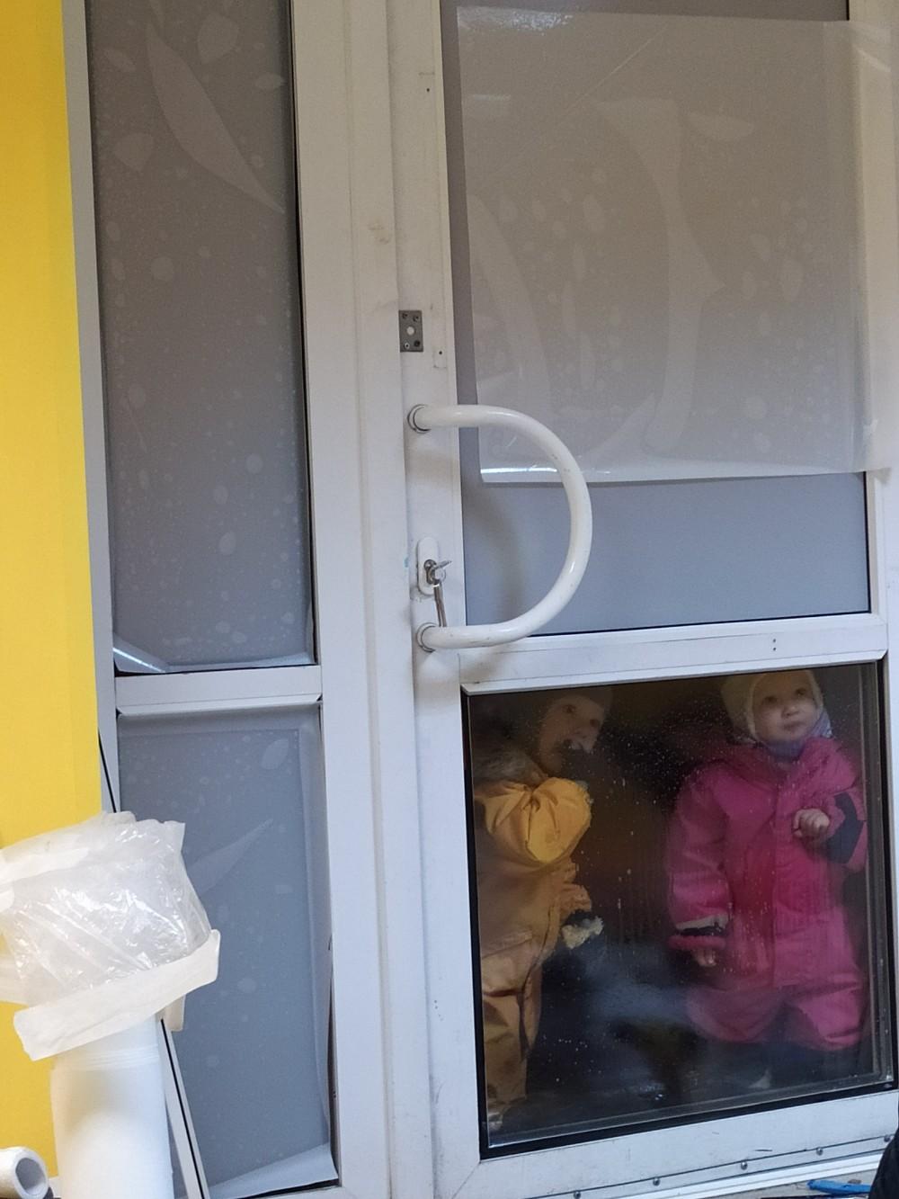 Ремонт входной пластиковой двери