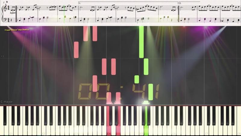Ragtime - Scott Joplin (Easy) (Ноты и Видеоурок для фортепиано) (piano cover)