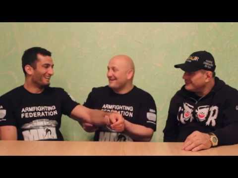 Martakan Akumb Mousasi Hayk Ghukasyan and Gokor Chivichyan
