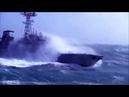 Эпичное видео. Военные корабли плывут в шторм под музыку. Greenli