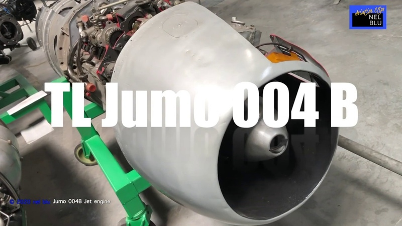 Design of the Junkers Jumo 004 B explained @ a cut away version of the turbojet engine of the Me 262