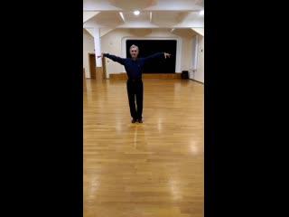 """Танцуем ча-ча-ча вместе с Танцевально-спортивным клубом """"Дуэт"""" (урок №2)"""