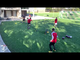 Compilation of the best TRAINING DRILLS with Sheldon Tweedie  Joner 1on1 Football Training-Обрезка 01