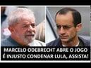 Marcelo Odebrecht volta a Inocentar Lula Pois é ele já havia feito Mas Moro ignorou