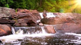 Relaxing Music & Waterfall Sounds: Beautiful Piano, Sleep Music, Stress Relief, Nature Sounds