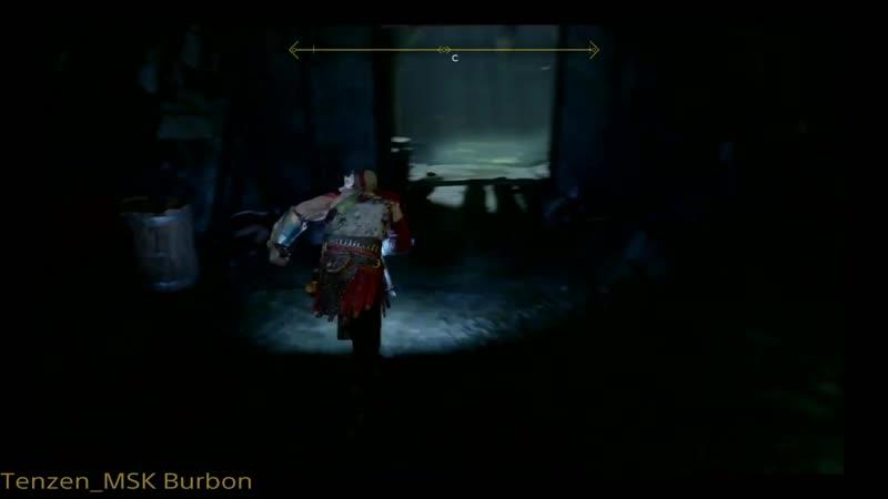 God of War 4 Прохождение Чёрное дыхание и статуя оленя Часть 16