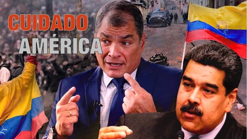 Detrás de la Razón; Exclusiva: REVELACIÓN, EEUU, sionismo y supremacismo mundial atacan Ecuador