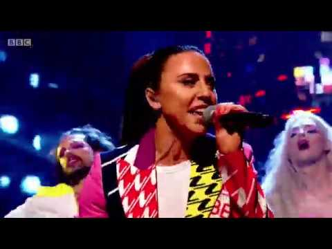 Melanie C ft Sink The Pink - High Heels Live on The Graham Norton Show Interview