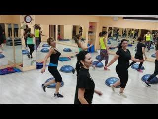 Bosu cardio aerobics. ваш тренер светлана исаенко.