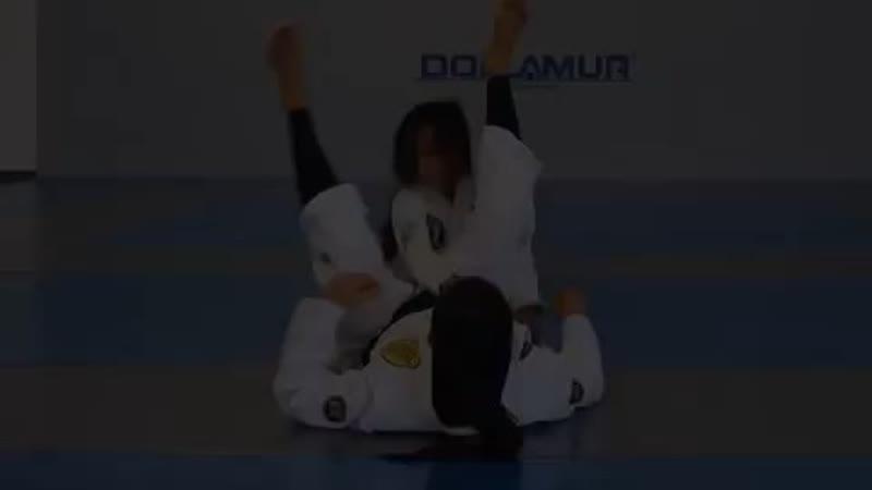 Triangle set up to armbar