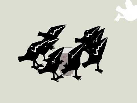 Студия анимации Рыжий воробей мультфильм Белая ворона