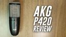 AKG P420 Multi-Pattern XLR Condenser Mic Review Test