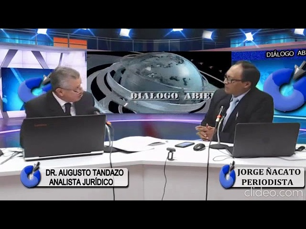 AUGUSTO TANDAZO en CONECTA TV y Radio analizando varios temas nacionales