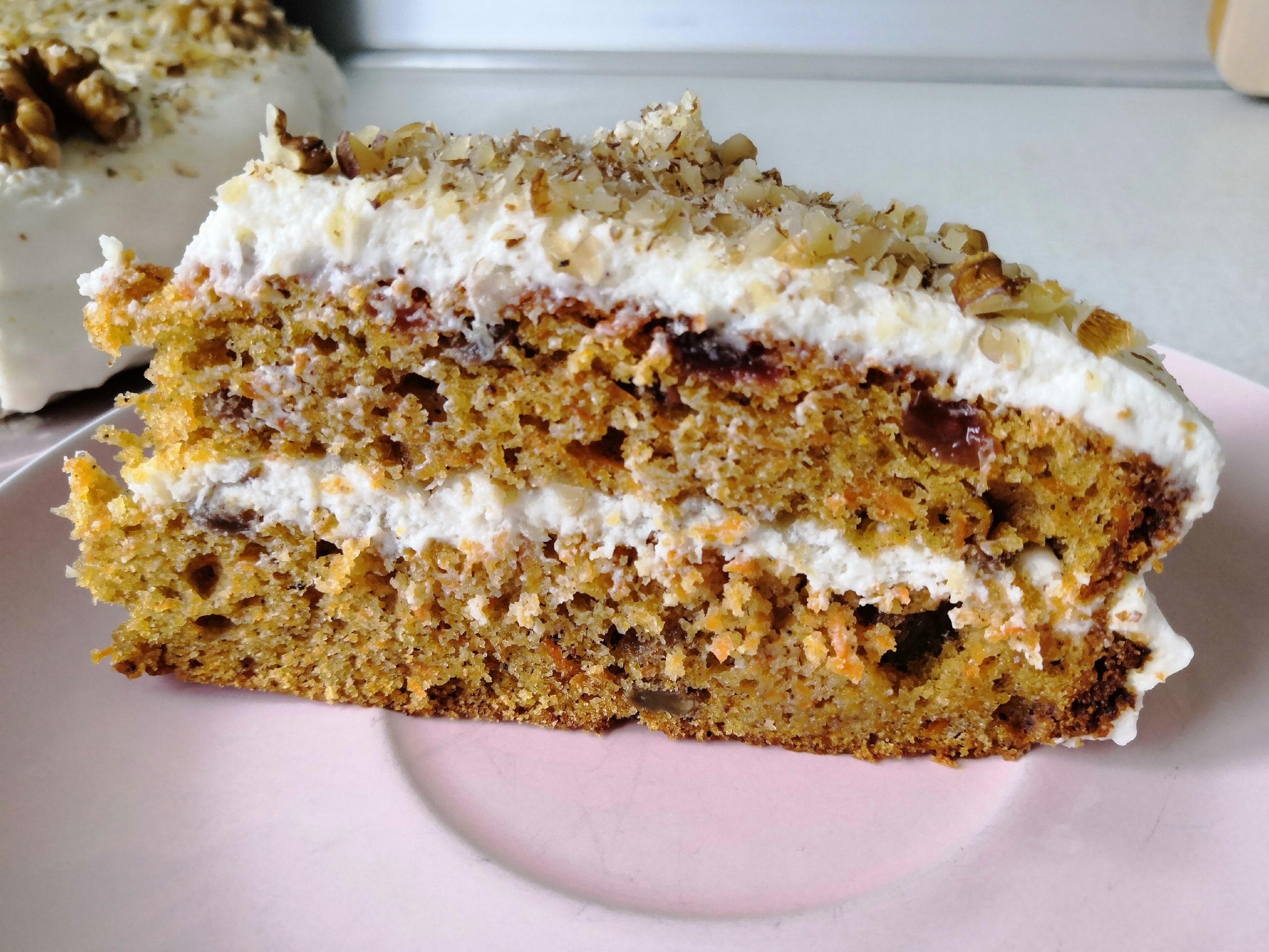 Морковный торт 4CAm8H9LPbw