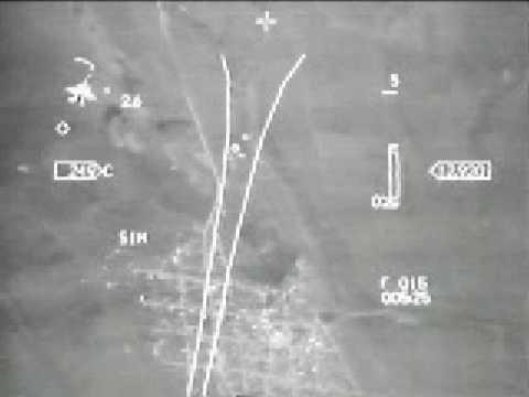 F16 DogFight Hud Video