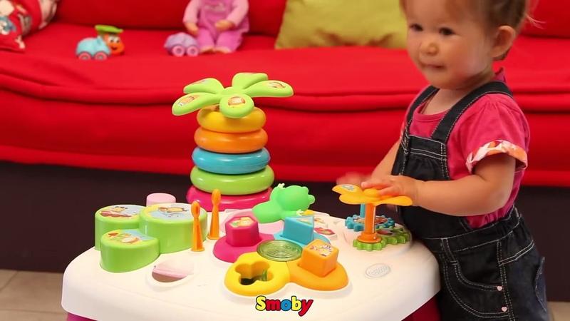 Smoby Развивающий игровой стол Cotoons 211067