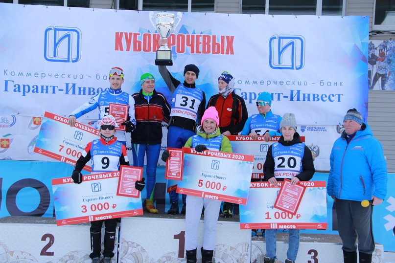 Победители и призёры соревнований прославленной династии лыжников Республики Коми