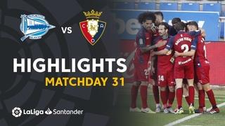 Highlights Deportivo Alavés vs CA Osasuna (0-1)