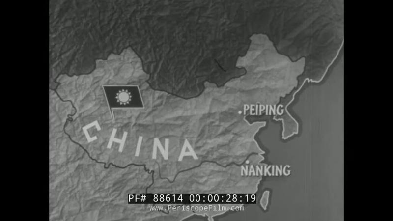 1950s CHINESE CIVIL WAR DOCUMENTARY MAO ZEDONG VS CHIANG KAI SHEK KMT VS CCP ARMY 88614