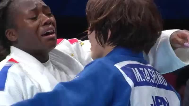 Кларисс Агбеньену на Чемпионате Мира по дзюдо в Токио 2019