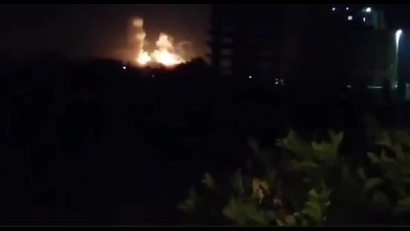Израильские боевые самолеты выпустили несколько ракет в направлении Дамаска