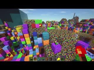 КАК СДЕЛАТЬ ЧЕРНУЮ ДЫРУ В МАЙНКРАФТ  Обзор мода Super TNT Minecraft