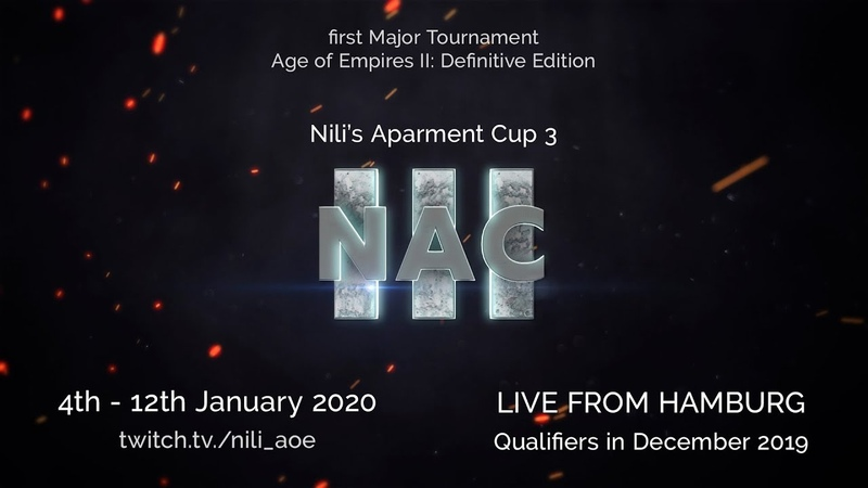 Nili's Apartment Cup 3 Announcement First Major AoE2 Defintitive Edition Tournament
