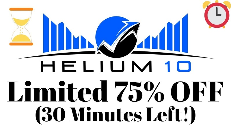 Helium 10 Coupon Code 2019 ENDING IN 30 MINUTES!