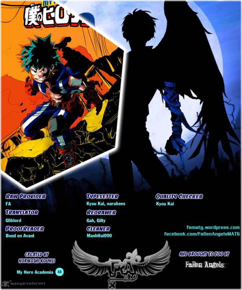 Boku No Hero Academia, Chapter 33, image #1