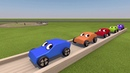 Деревянная гоночная дорога и гонка на машинках - Мир деревянных игрушек