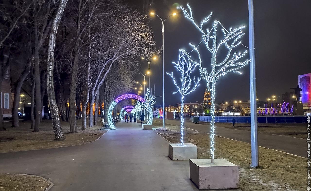 новый год Саратов 2020