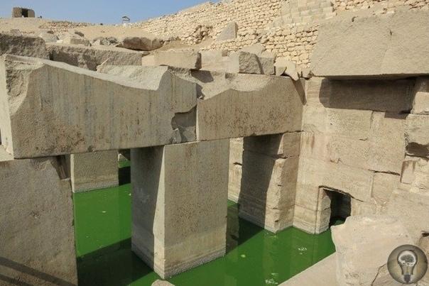 Высокие технологии прошлого храма Осириса